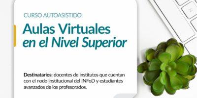 Curso Autoasistido: Aulas virtuales en el Nivel Superior