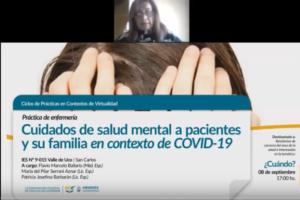 Cuidados de salud mental a pacientes y su familia en contexto de COVID – 19