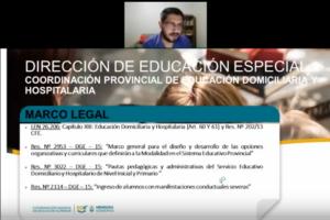 Políticas educativas en Educación domiciliara y hospitalaria