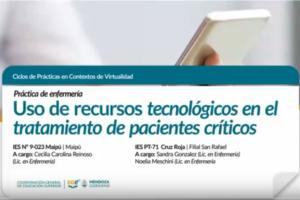 Uso de recursos tecnológicos en el tratamiento de pacientes críticos