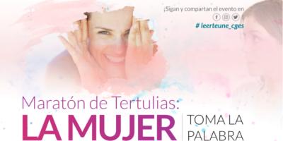 """Maratón de Tertulias Literarias """"La mujer toma la palabra"""""""
