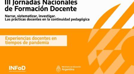 Compilación de producciones presentadas en las Jornadas Nacionales de Formación Docente