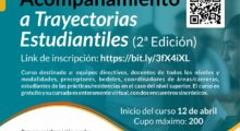 II Edición del Curso virtual de Acompañamiento a Trayectorias Estudiantiles