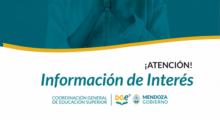 EL Nivel Superior trabaja en el Mapa Provincial de la Oferta Educativa 2022