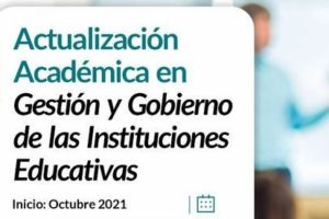 Educación Superior presenta dos postítulos dictados por el INFoD